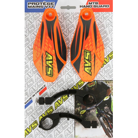 AVS Racing Kit protection mains, orange/black